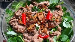 Nộm rau càng cua trộn dầu giấm thịt bò thanh mát, lạ miệng