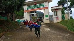 Sạt lở tại Đồn Biên phòng A Xan: 100% cán bộ, chiến sĩ được đưa đến nơi an toàn
