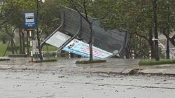 """Video: Những hình ảnh """"cuồng nộ"""" của bão Molave khi đổ bộ vào đất liền"""