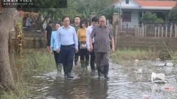 Quảng Bình: Chủ tịch Hội NDVN thăm hỏi, trao quà cho đồng bào vùng lũ, thắp hương Thiếu tướng Nguyễn Văn Man