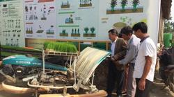 Hà Nội: Nỗ lực đưa máy cấy vào trồng lúa, nông dân bớt cảnh còng lưng