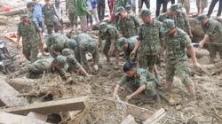 Bắc Trà My mưa lớn, tạm dừng công tác tìm kiếm nạn nhân vụ sạt lở