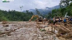 Ảnh, clip: Hiện trường thương tâm sau vụ sạt lở ở thôn 1, Trà Leng