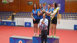 Video: 152 bộ huy chương được trao tại giải Bóng bàn Cúp Hội Nhà báo Việt Nam 2020