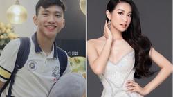 """Bị đồn hẹn hò… Đoàn Văn Hậu, thí sinh Hoa hậu Việt Nam 2020 nhận """"mưa gạch đá"""""""