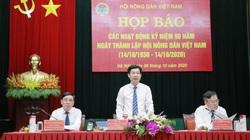 Toàn cảnh Họp báo kỷ niệm 90 năm Ngày thành lập Hội Nông dân Việt Nam