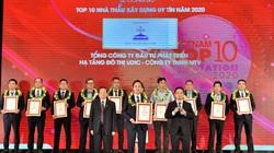 Tổng Công ty UDIC trong Top 10 nhà thầu uy tín 2020