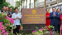 Bí thư và tân Chủ tịch Hà Nội cùng cắt băng thông xe cầu vượt qua mặt hồ đẹp nhất Thủ đô