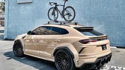 Siêu xe Lamborghini thân xe rộng, phủ lớp cát sa mạc, giá đắt đỏ