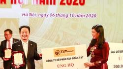 """""""Bầu Hiển"""" ủng hộ 5 tỷ đồng cho quỹ Vì người nghèo TP.Hà Nội"""