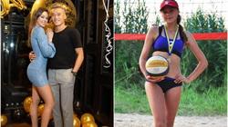 """Tiết lộ: Bạn gái Tây của thủ môn Bùi Tiến Dũng từng là """"cao thủ"""" bóng chuyền"""