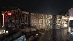 2 ô tô va chạm lúc nửa đêm, 1 người chết, 19 người bị thương