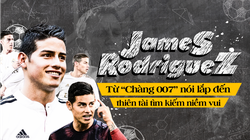 """James Rodriguez – Từ """"chàng 007"""" nói lắp đến kẻ thách thức Premier League"""