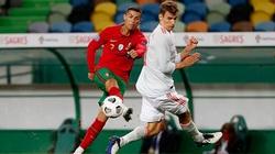 Có Ronaldo, Bồ Đào Nha vẫn đứt mạch toàn thắng