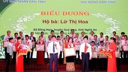 130 nông dân sản xuất, kinh doanh giỏi của Nghệ An dược vinh danh
