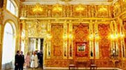Căn phòng hổ phách thời Sa hoàng Nga có gì đặc biệt?