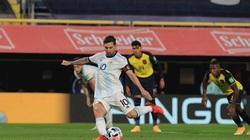 Messi ghi bàn, Argentina nhọc nhằn đánh bại Ecuador