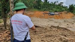 Sạt lở Trà Leng: Huy động 32 thuyền, cano, flycam tầm soát nhiệt tìm kiếm nạn nhân