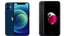 Có nên đầu tư nâng cấp iPhone 7 lên iPhone 12 mini?