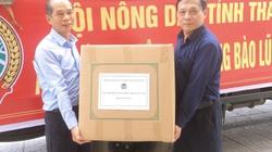 Hội Nông dân tỉnh Nghệ An tiếp nhận tiền, hàng ủng hộ nông dân thiệt hại do lũ