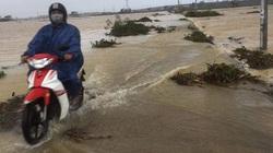 Quảng Nam: Mưa kéo dài, cảnh báo lũ lớn