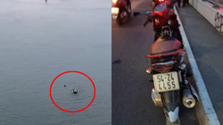 Clip: Đau lòng cảnh chới với rồi chìm hẳn của người đàn ông nhảy cầu Sài Gòn