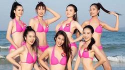 """""""Bỏng mắt"""" ngắm 18 thí sinh Người đẹp Hạ Long diện bikini quyến rũ hết nấc"""