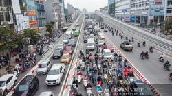 """Ùn tắc sau thông xe, Hà Nội phân luồng lại giao thông ở """"ngã tư khổ"""" - Trường Chinh"""