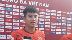 Tuyển thủ U22 Việt Nam Thái Bá Sang nhắc tên thần tượng xứ Nghệ