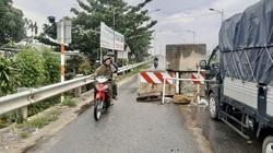 """Quảng Ngãi: Sở GTVT """"chữa cháy"""" giảm hiểm họa tường bê tông gây chết người ở cầu Trà Bồng"""