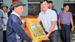 """""""Trao cần câu"""" giúp bà con vùng lũ Quảng Trạch (Quảng Bình) tái sản xuất vụ đông xuân"""