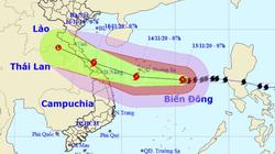 Video: Bộ trưởng Nguyễn Xuân Cường cảnh báo bão số 13 đường đi khó đoán định, tốc bộ bão lớn, đổ bộ Miền Trung