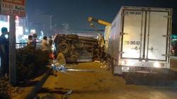 Xe Fortuner mất lái lao sang đường, đâm tử vong tài xế xe thư báo trên QL5