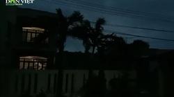 Clip: Bão Vamco tiến vào, gió rít liên hồi, Lý Sơn mất điện toàn đảo