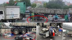 Hà Nội: Va chạm với xe đầu kéo, 2 người phụ nữ tử vong thương tâm