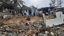 Ảnh hưởng bão số 13: Hàng chục nhà hàng ven biển An Bàng, Hội An bị đánh sập