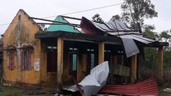 Quảng Trị: Nhiều nơi mất điện, nhà tốc mái, cao su gãy đổ vì bão số 13