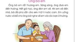 Nỗ lực chỉnh sửa SGK Tiếng Việt 1 Cánh Diều