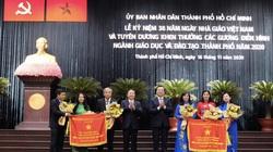 TP.HCM: 200 tập thể, giáo viên được khen thưởng, tôn vinh nhân Ngày Nhà giáo Việt Nam