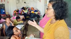 Lớp học tình thương 20 năm của con, em lao động nghèo ở Cà Mau