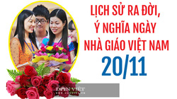 Lịch sử ra đời, ý nghĩa ngày Nhà giáo Việt Nam 20/11