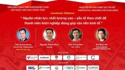 3 diễn giả hàng đầu tham gia giao lưu trực tuyến về khởi nghiệp sáng tạo