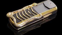 9 chiếc điện thoại Vertu đắt đỏ nhất thế giới, phủ vàng đá quý cả triệu đô la