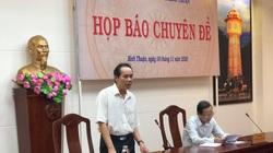 """Bị phản ánh """"giao đất không qua đấu giá"""", UBND tỉnh Bình Thuận họp báo """"phản pháo"""""""