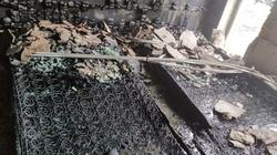 Cháy khách sạn Vinh Plaza, một phòng thành than