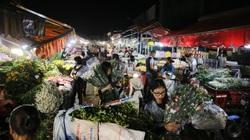 Chợ hoa lớn nhất miền Bắc nhộn nhịp trước ngày 20/11