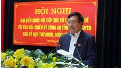 Phó Thủ tướng Phạm Bình Minh tiếp xúc cử tri Công an tỉnh Thái Nguyên