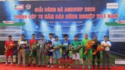 Báo Nông nghiệp Việt Nam tổ chức giải bóng đá Agricup 2020
