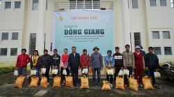 Tập đoàn FVG tặng hơn 1.000 suất quà hỗ trợ đồng bào miền núi Quảng Nam bị ảnh hưởng do bão lũ