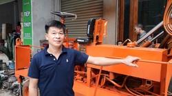 Một nông dân tỉnh Thái Nguyên sáng chế máy khoan có một không hai, bán cả ra nước ngoài